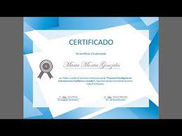 Certificado De Bautismo Template Ejemplo De Certificado En Word