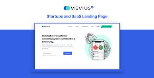 Mevius Saas Startup Landing Page Bootstrap4