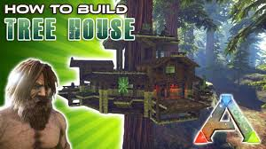 cool tree houses to build. Tree House How To Build | Ark Survival Cool Houses E