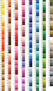 Meticulous Anchor Yarn Color Chart 2019