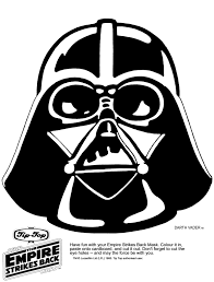 Small Picture mask printable Click the picture for the Darth Vader Mask in