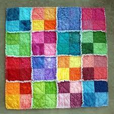 Summersplash Rag Quilt | Rag quilt and Patterns &  Adamdwight.com