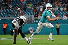 Josh Rosen Is Making A Run As Dolphins Depth Chart 53 Man