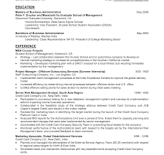 Mccombs Resume Format Resume Format For Mba Hr Fresher Doc Marketing Cv Pdf Freshers In 62