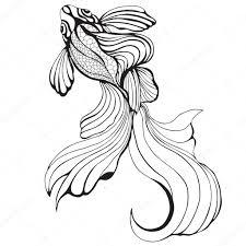 рисунок рука абстрактные рыбы эскиз рука рисунок графика