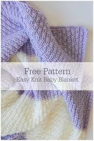 Free Baby Blanket Knitting Patterns