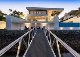 Australian Ramp Design Ramp Outdoor Lighting Stunning Waterfront Home In