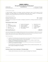 Example Of One Page Resume Examples Of One Page Resumes Download One ...