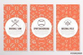 Baseball Brochure Template Baseball Softball Sport Game Brochure Template Flyer