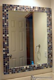 Best Tile Around Mirror Ideas Only On Pinterest Mirror