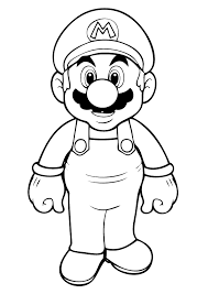 Free Printable Mario Coloring Pages For Kids Deep Thought Super