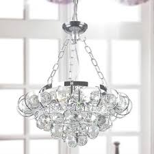 four light chrome and crystal chandelier in oversized crystal chandelier contemporary gallery 25 of 45