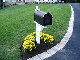 Mailbox landscaping ideas Area Mailbox Landscaping Yhomeco Mailbox Landscaping Design Mailbox Landscaping Design Mailbox