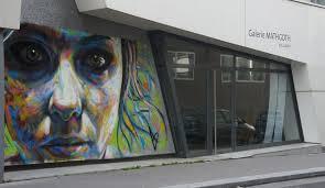 Streetart: David Walker New Murals in Paris // France (9 Pictures + Clip) - david_walker_paris_06