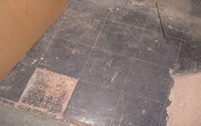 testing asbestos floor tiles