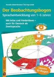 Beobachtungsbogen im kindergarten spielen eine wichtige rolle für die ideale entwicklung eines kindes. Auf Einen Blick Der Beobachtungsbogen Sprachentwicklung Von 1 6 Jahren