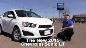 Review: The New 2015 Chevrolet Sonic LT Minneapolis, St Cloud ...