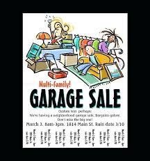 Yard Sale Flyer Template Elegant Garage Big Create A Poster About