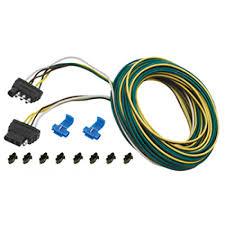 wesbar 4 flat wiring harness tow plug kit trailer end connector 30 wesbar 4 flat wiring harness tow plug kit trailer end connector 30 ft wishbone harness kit