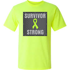 non hodgkin s lymphoma survivor strong shirts apparel and gifts featuring a lime green ribbon nonhodgkinslymphoma lymphomaawareness lymphomashirts