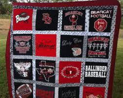 T-shirt Quilt Custom Made Memory Quilt Made from 9 49 t & T-shirt Quilt - Custom Made - Memory Quilt Made From 9 - 49 t Adamdwight.com
