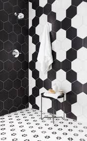 Black And White Shower Tile Designs Designing With Black And White Tile The Tile Shop Blog