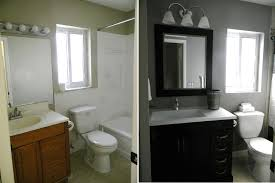 Small Picture Bathroom Remodeling On A Budget Endearing Of Small Bathroom