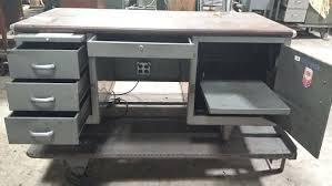 vintage metal office desk. Metal Office Desk Vintage Steel Uk E