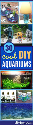diy aquarium ideas cool and easy decorations for tank aquariums mason jar wall