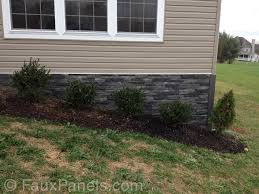 Home Foundations Creative Faux Panels - Exterior stone cladding panels