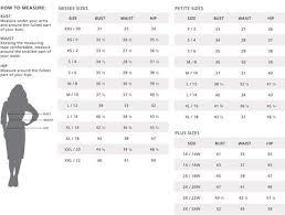 Misses Vs Women S Size Chart Black White Plaid Pencil Skirt Plus Size