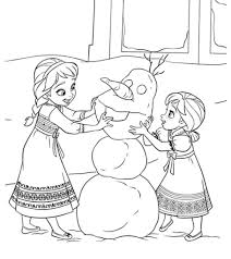 Elsa created the palace using her magical snow powers. 50 Beautiful Frozen Coloring Pages For Your Little Princess
