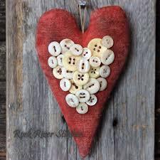 primitive valentine decor ten valentine on crafts rustic crafts chic decor