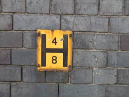 so you have to on the lookout on the ground as well as spotting yellow h signs fire hydrant covers generally have fh on them to identify them although some