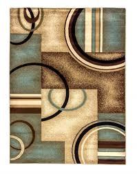 blue brown area rug blue and brown rugs modern geometric area dash albert verona