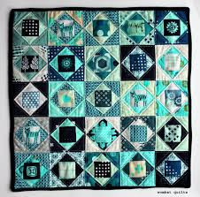 free block pattern = Mini paper pieced quilt by Cath Hall, made ... & free block pattern = Mini paper pieced quilt by Cath Hall, made with economy Adamdwight.com