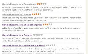 MonsterCom Resume Unique Get That Job Six Online Resume Tools CNET