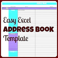 Microsoft Office Address Book Template Free Free Address Bo Template Business Address Template Word Free