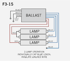 sign ballasts smart wire parallel Dual Lite Emergency Ballast Wiring Diagram Exit Light Wiring
