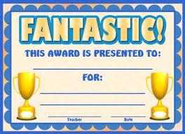 achievement awards for elementary students achievement award certificates