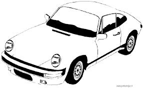 Porsche Kleurplaten