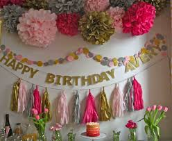 home decor decoration ideas for birthday party at home home decors