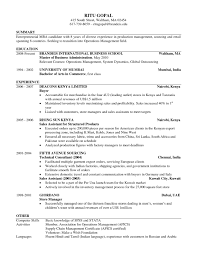 Resume In English From Russian