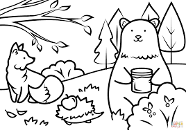 Coloring Pages Fall Staggering Free Printables Printabler Adults