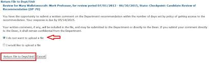 Letter Of Recommendation Not Submitted Review The Department Unit Recommendation