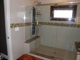 Open Shower Bathroom Bathroom Design Trend Open Showers Frameless Showers