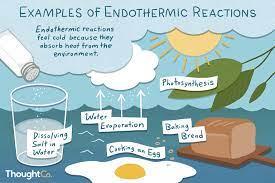 endothermic reaction examples