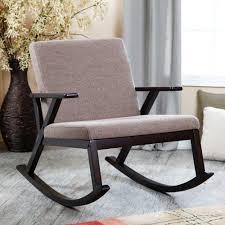 Image of: Modern Rocking Chair Nursery Designs