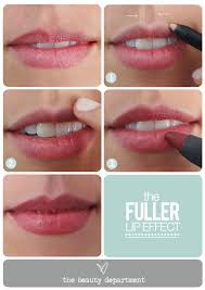 makeup beautician magician a voluminous lip illusion