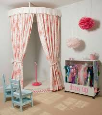 Kid's Performing Stage & Dress-Up Area. Love this idea for the girls' room.